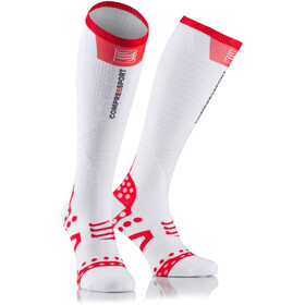 Compressport Ultralight Racing Calze da corsa bianco